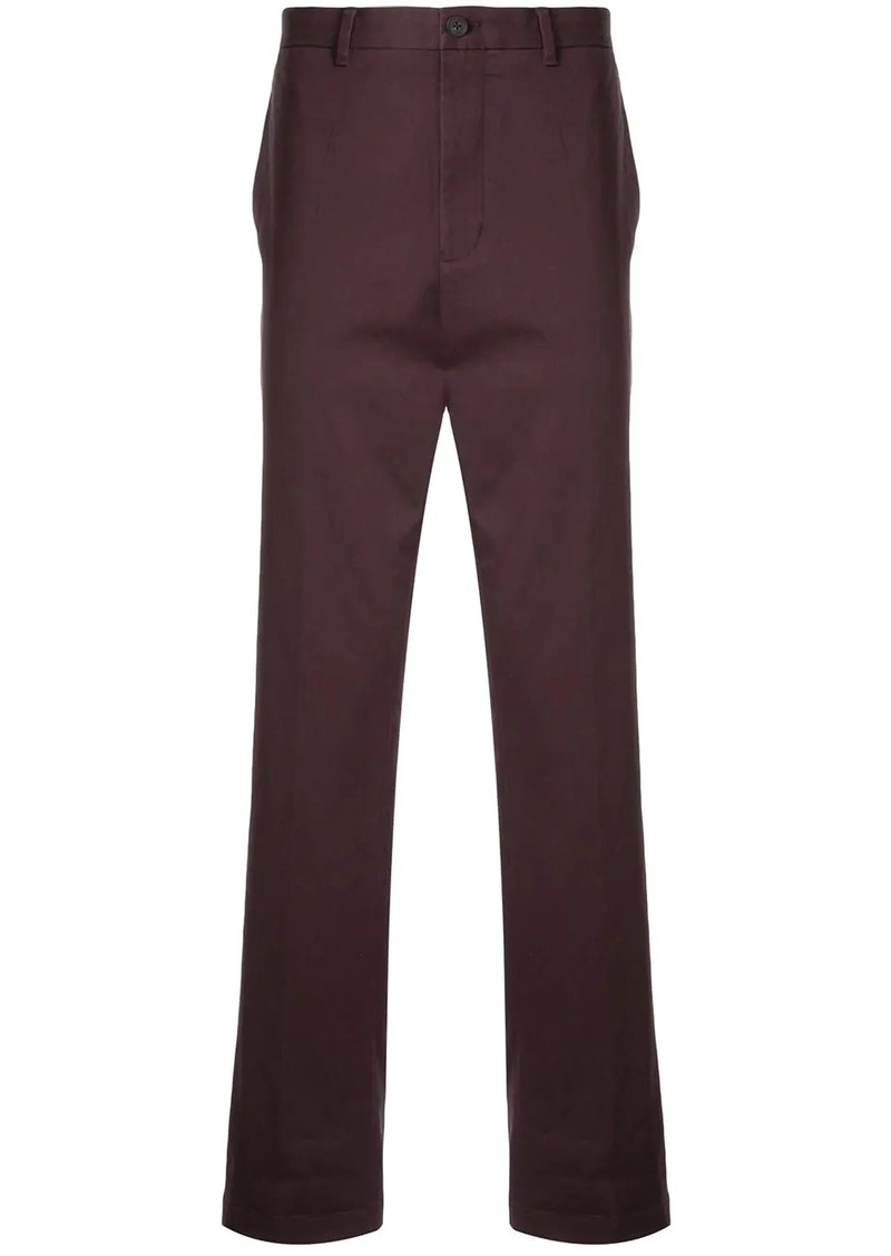 Kent & Curwen stretch fit straight leg chinos