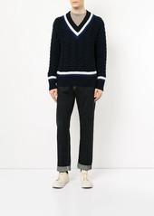 Kent & Curwen V-neck jumper
