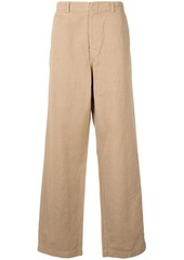 Kent & Curwen wide-leg tailored trousers