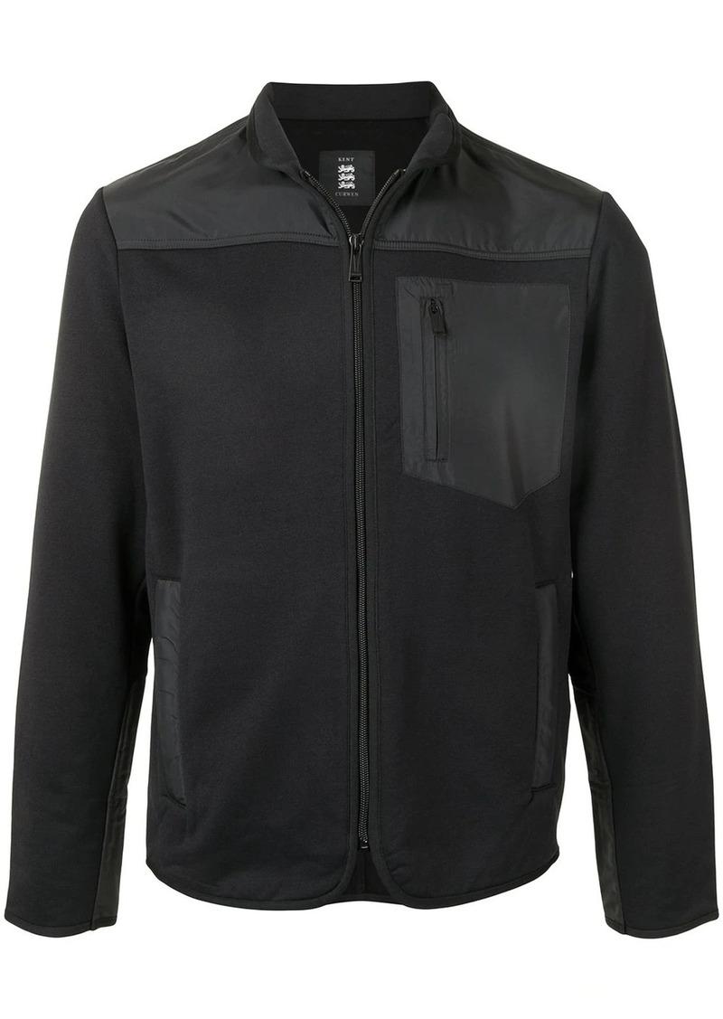 Kent & Curwen zip-through tech sweatshirt