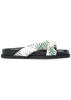 Kenzo 10mm Printed Nylon Slide Sandals