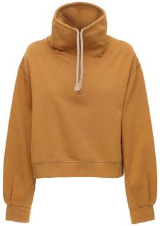 Kenzo Half-zip Cotton Jersey Sweatshirt