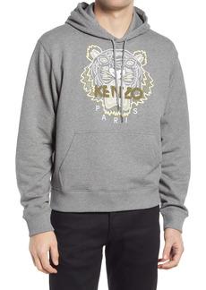 KENZO Classic Embroidered Tiger Hooded Sweatshirt