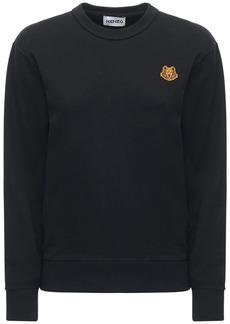 Kenzo Logo Cotton Fleece Sweatshirt