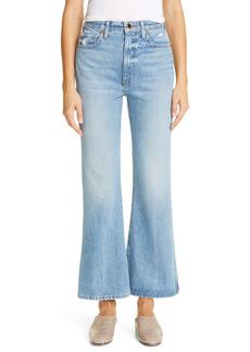 Khaite Distressed Flare Leg Jeans (Boise)