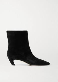Khaite Suede Ankle Boots