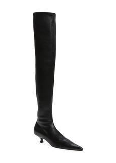 Women's Khaite The Volos Over The Knee Boot