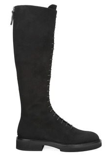 Khaite York Knee-High Suede Boots