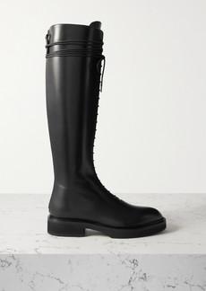 Khaite York Leather Knee Boots