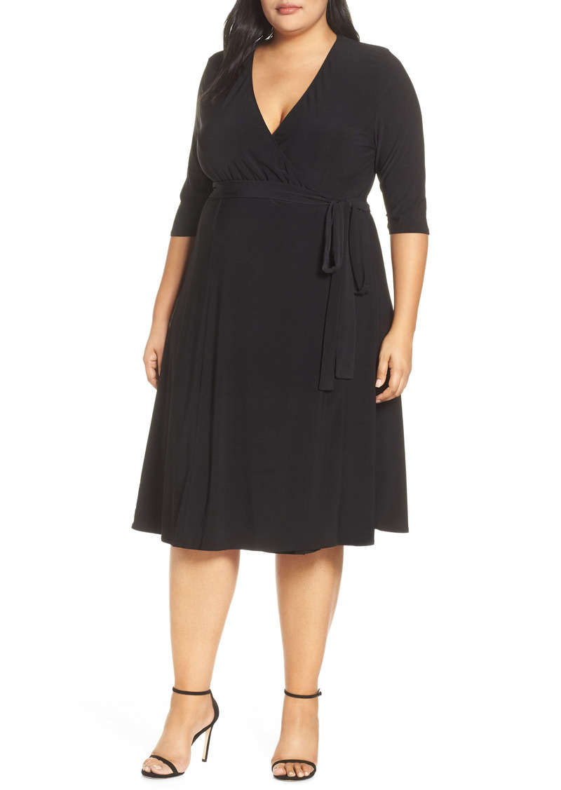 Kiyonna Kiyona Essential Wrap Dress (Plus Size)
