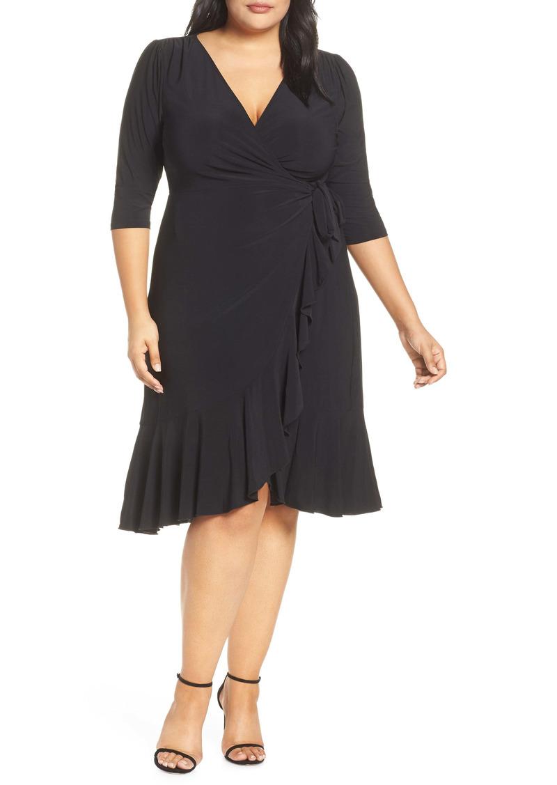 Kiyonna Whimsy Wrap Dress (Plus Size)