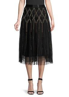 Kobi Halperin Susana Studded Mesh Skirt