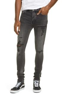 Ksubi Van Winkle Angst Dymo Ripped Skinny Jeans