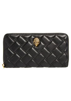 Women's Kurt Geiger London Eagle Leather Zip Around Wallet