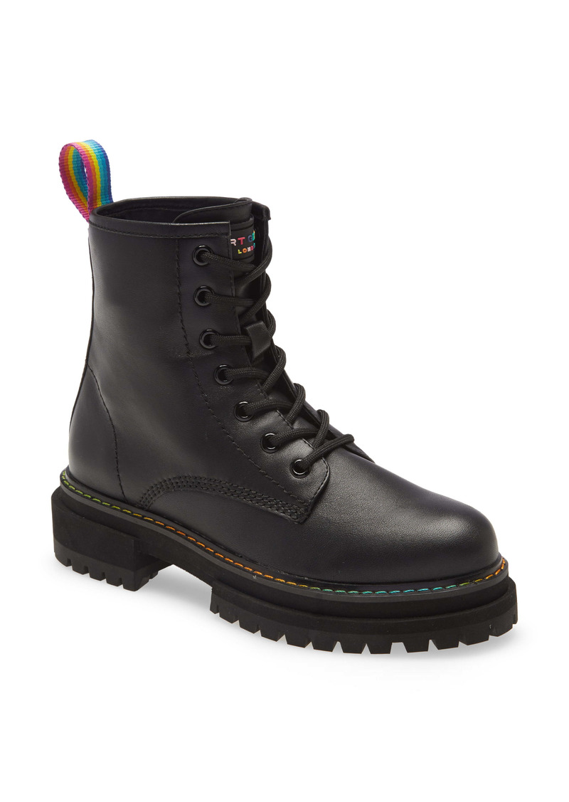 Kurt Geiger London Birdie Rainbow Combat Boot (Women)