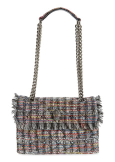 Kurt Geiger London Kensington Recycled Tweed Shoulder Bag