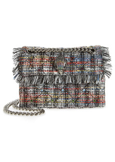 Kurt Geiger London Mini Kensington Recycled Tweed Crossbody Bag