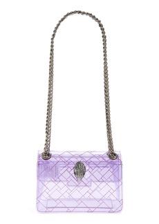 Kurt Geiger London Rainbow Shop Mini Kensington Transparent Shoulder Bag