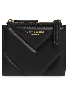 Kurt Geiger London Mini Leather Clutch - Black