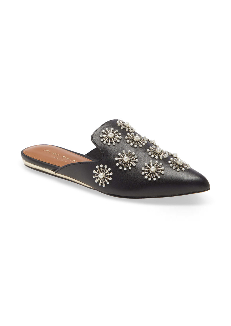 Kurt Geiger London Olive Embroidered Mule (Women)