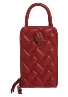 Kurt Geiger London Tall Kensington Leather Crossbody Bag