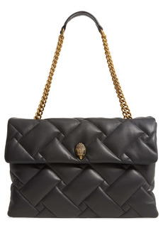 Kurt Geiger London XXL Kensington Soft Quilted Leather Shoulder Bag