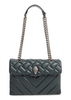 Kurt Geiger London Large Kensington Leather Shoulder Bag