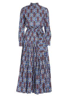 La Doublej Bellini Printed Midi Shirtdress