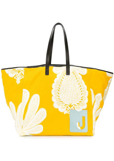 La Doublej Big Mama pineapple print tote bag