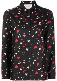 La Doublej Boy heart-print shirt