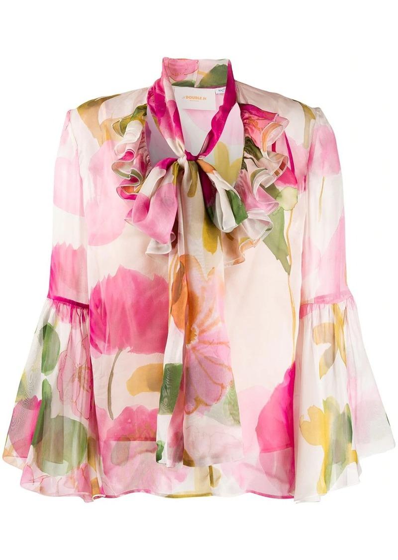 La Doublej Carmen silk shirt
