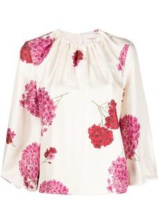 La Doublej Charming floral-print blouse