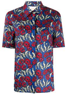 La Doublej Clerk floral print shirt