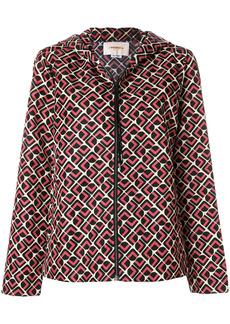 La Doublej Domino Rosa windy jacket