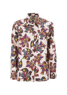 La Doublej Edition 22 Boy Twill Silk Shirt