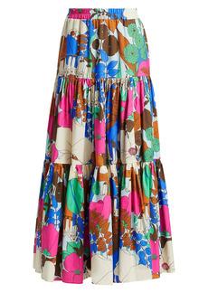 La Doublej Edition 23 Multicolor Big Skirt