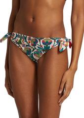 La Doublej Edition 24 Bow Print Reversible Bikini Briefs