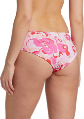 La Doublej Edition 24 Floral-Print Boy Leg Bikini Briefs