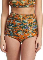 La Doublej Edition 24 Giga Reversbile High-Waist Bikini Briefs