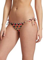 La Doublej Edition 24 Print String Bikini Bottom