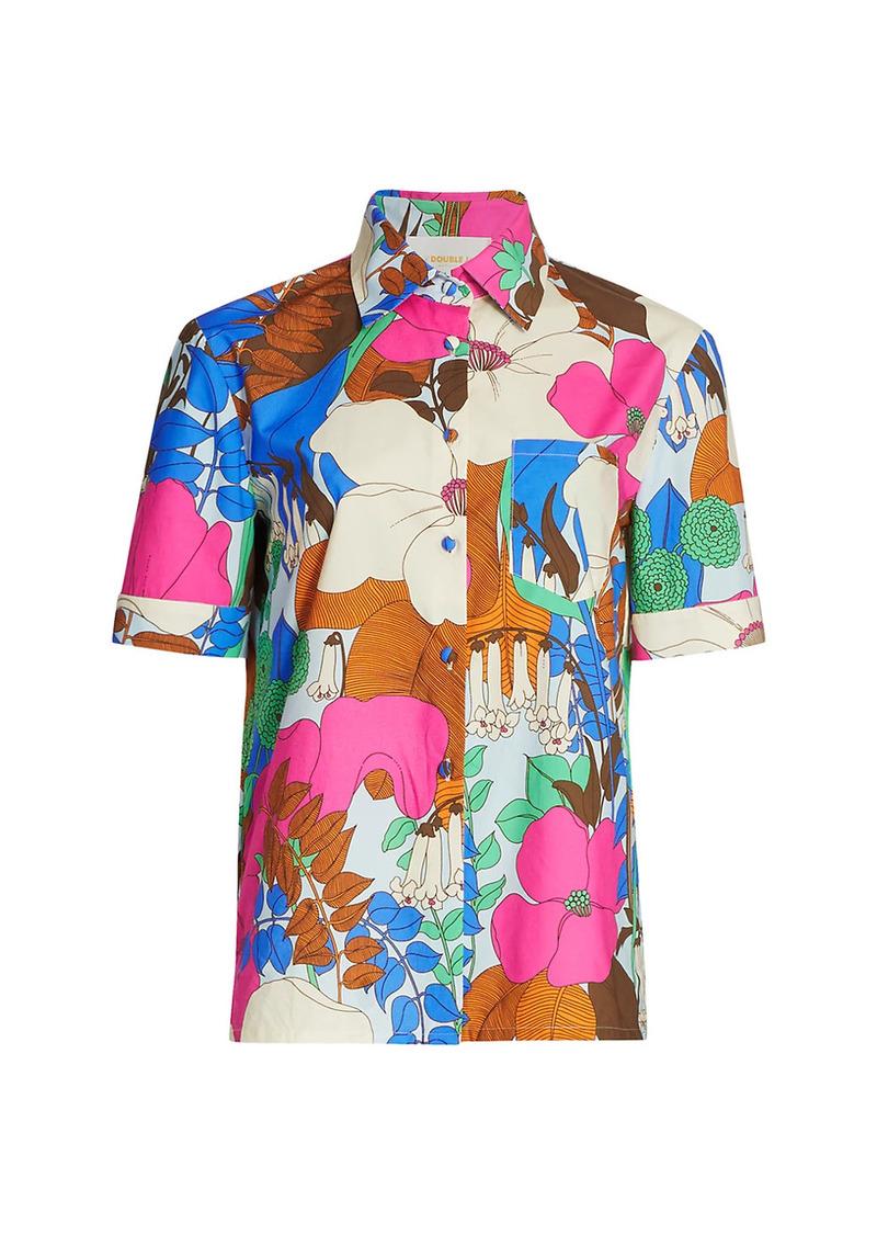 La Doublej Floral Clerk Shirt