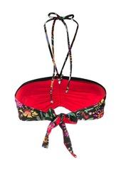 La Doublej floral print bikini top