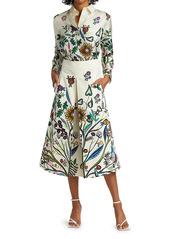 La Doublej Floral Silk Shirt