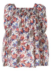 La Doublej garden print blouse