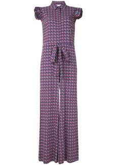 La Doublej geometric print jumpsuit