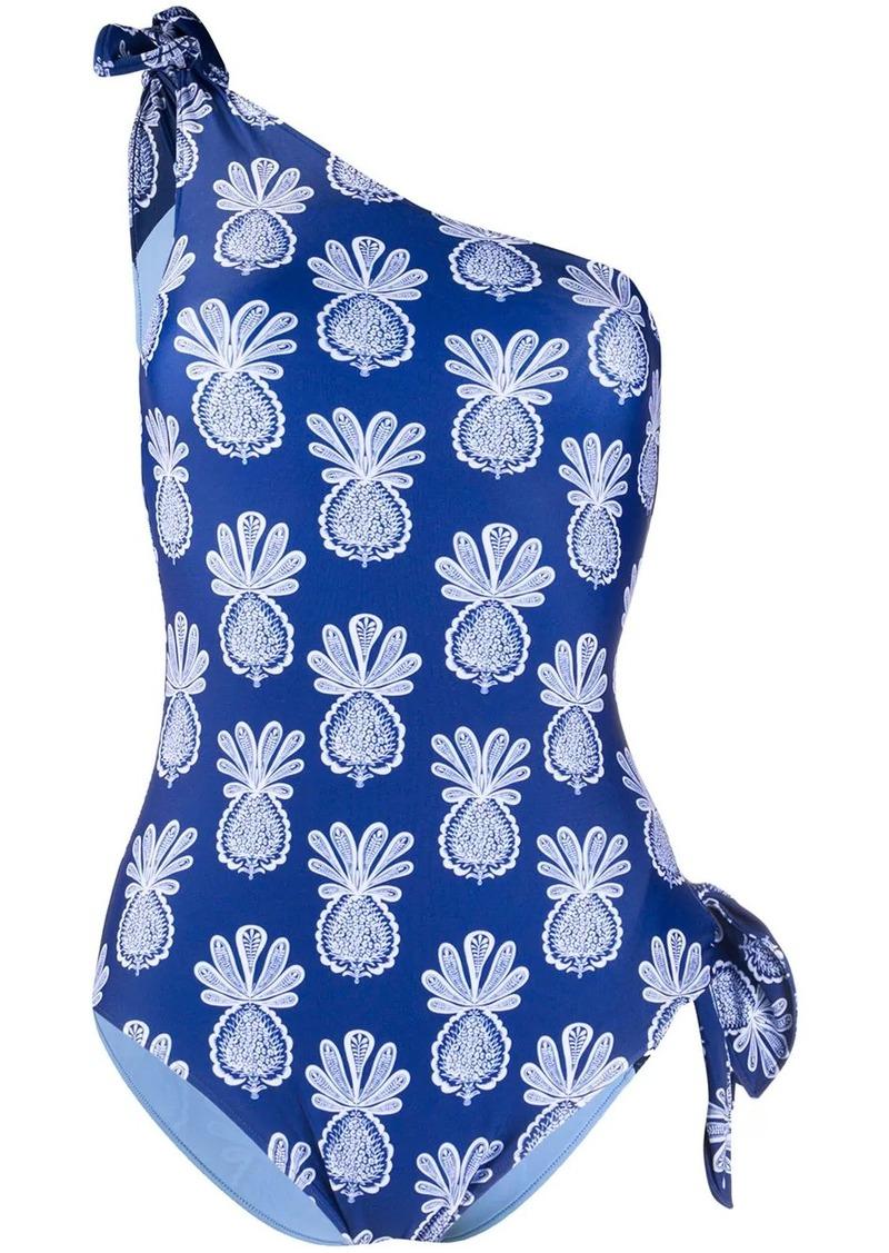 La Doublej Goddess off-shoulder swimsuit