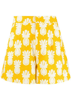 La Doublej Good Butt pineapple-print shorts
