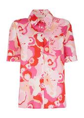 La DoubleJ Clerk Printed Cotton Shirt