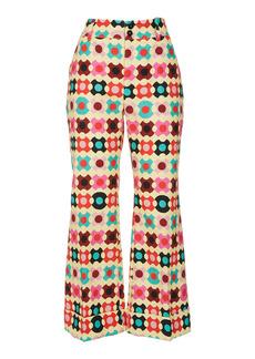 La DoubleJ Hendrix Printed Cotton Flared Pants