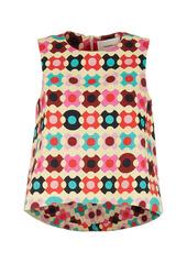 La DoubleJ La Scala Printed Cotton Top